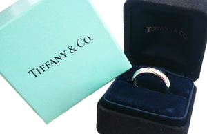 Tiffany & Co. Etoile 10 Diamond Band Ring, Size K