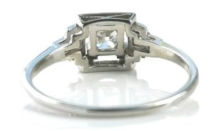 1920s Art Deco .40ct G/VS Old Cut Diamond Engagement Ring