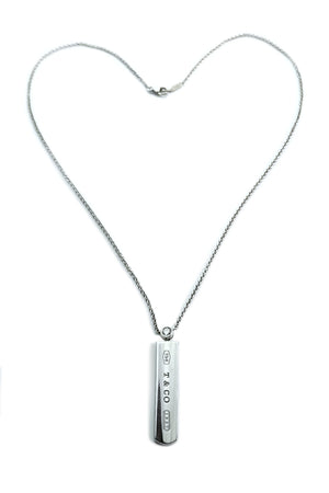 Tiffany & Co 1837 Diamond Pendant Necklace 18 inches
