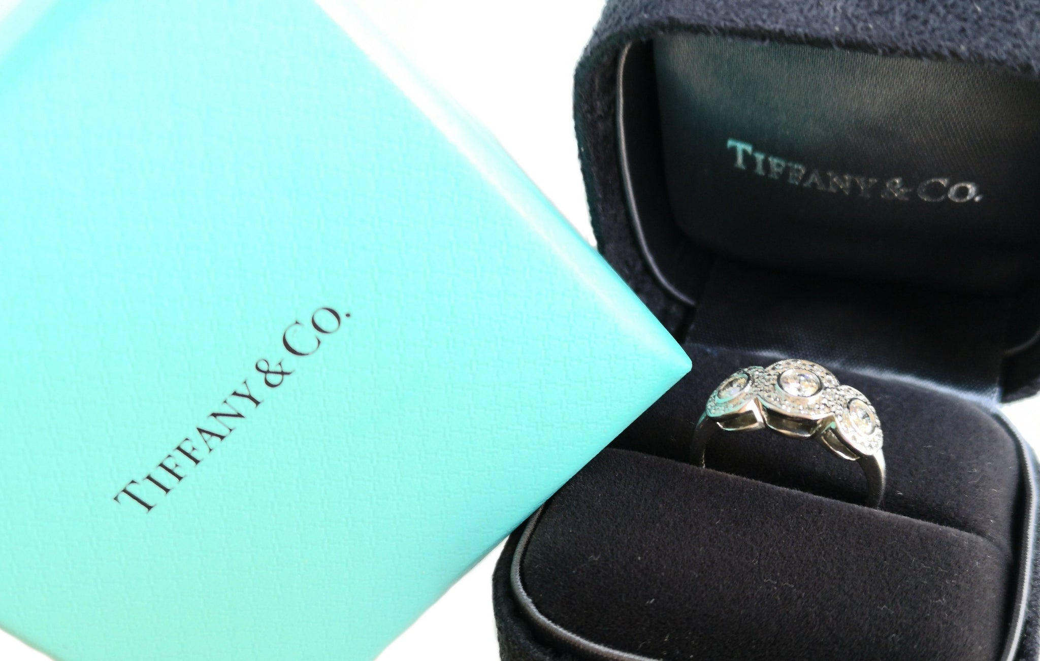 Tiffany & Co Circlet .53ct Round Brilliant Diamond Engagement Ring RRP £5000