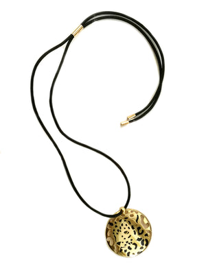 Cartier Panthere Disc Necklace 18k Gold