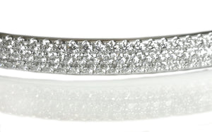 Tiffany & Co. Metro 3-Row Diamond Bracelet in 18K White Gold, RRP £10,900