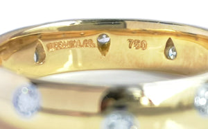Tiffany & Co. Etoile Yellow Gold Ring, Size N 1/2