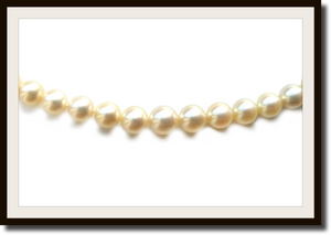 Vintage Graduated Cultured Pearl Necklace 18k Gold Clasp