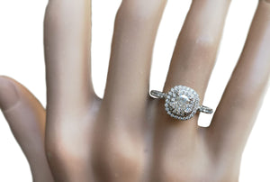 Tiffany & Co. 0.92tcw H/VS2 Soleste Diamond Engagement Ring