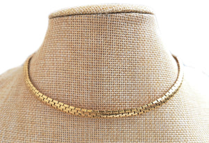 Vintage 1960s Cartier Stretch Gold Necklace