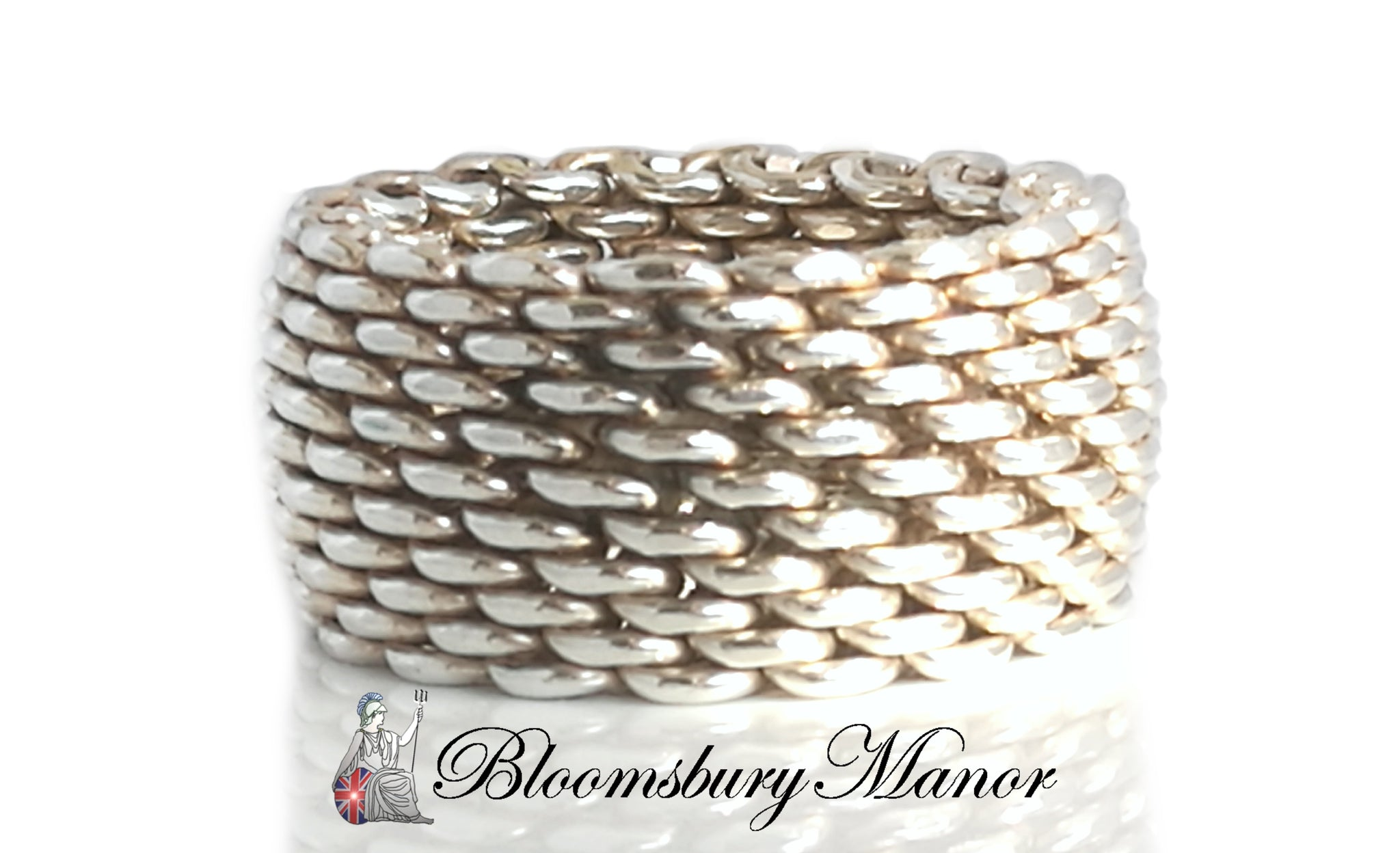 c092d40fd9847 Tiffany & Co. Somerset Woven Ring, Size K