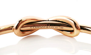 Tiffany & Co 18k Rose Gold Infinity Cuff Medium