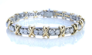 Tiffany & Co. Schlumberger 36 Stone 2.95ct Diamond Bracelet