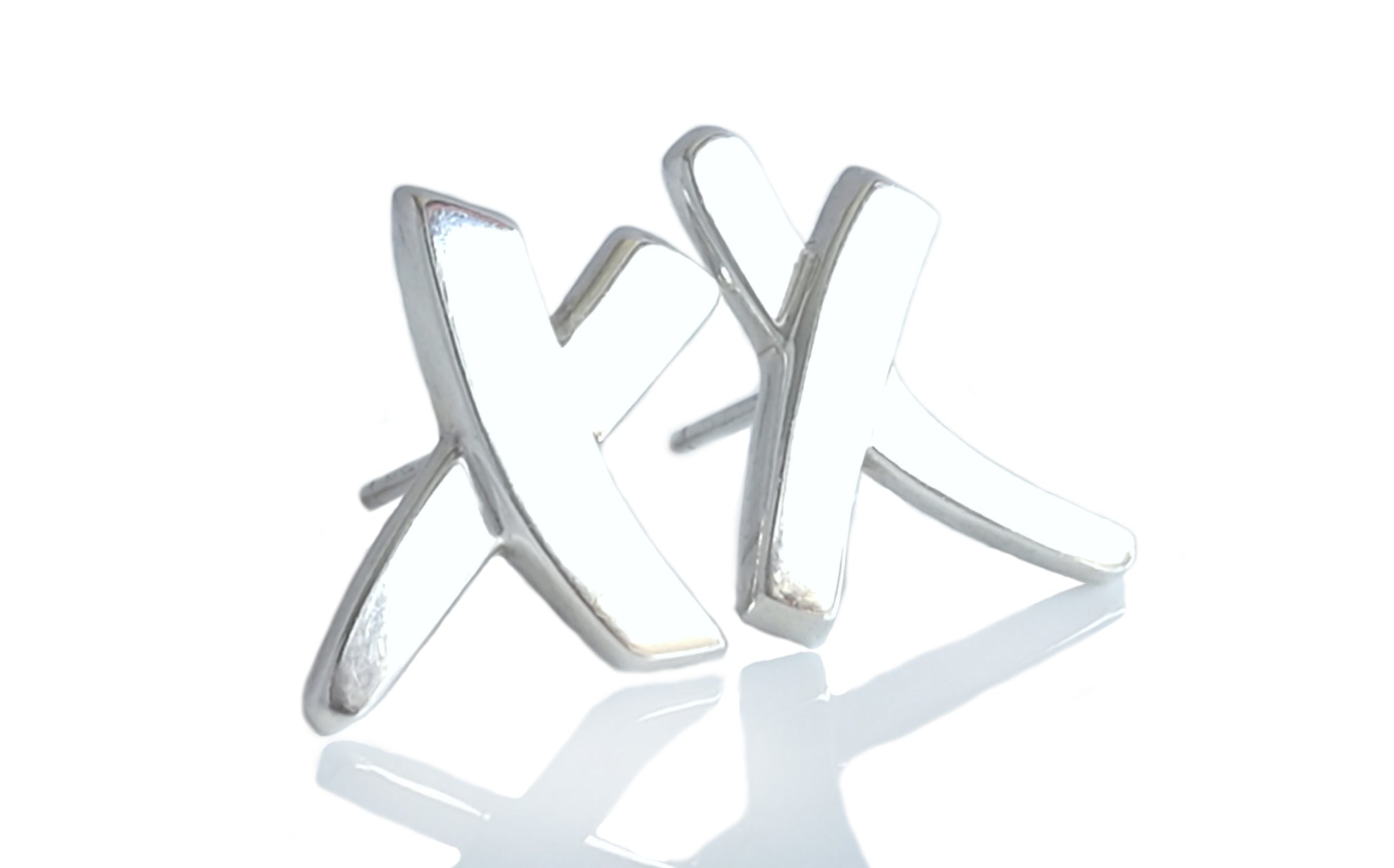 Tiffany & Co. X Kiss Sterling Silver Paloma Picasso Earrings