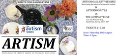 Artism Gallery Viewing & Afternoon Tea Ticket