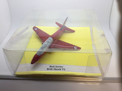 Aeroplane Model Red Arrow Hawk T1