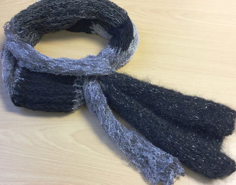 Mixed-fibre Scarves