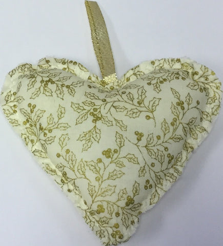 Christmas Heart Tree Decoration