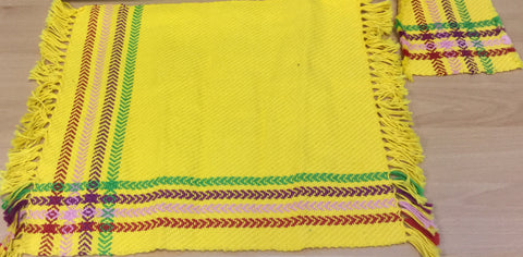 Hand-woven Place Mat And Coaster