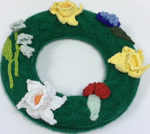 Daffodils And Roses Wreath