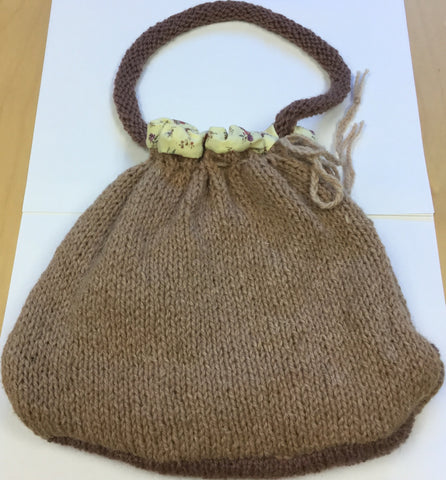Vintage Natural Fibre Bag