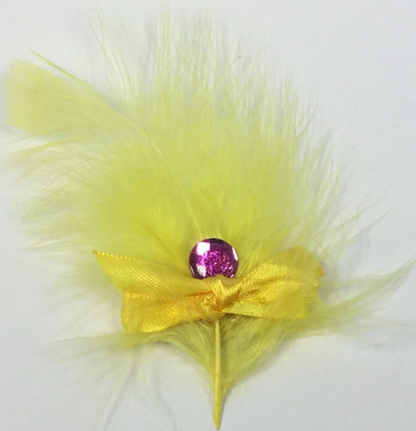 Feather Ribbon Brooch