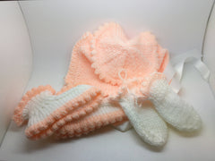 Baby Hat, Mittens And Socks