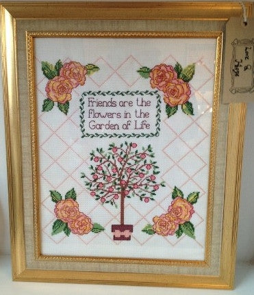 'Friends' Cross-Stitch Frame