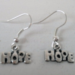 Earrings Metal Hope Hook Fasten