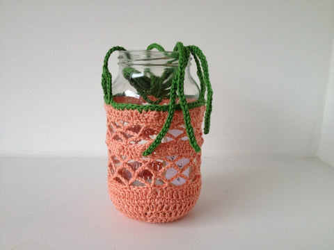 Crocheted Tealight Holder