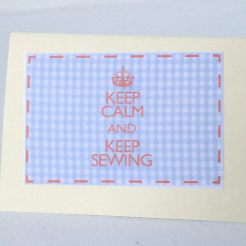 Keep Calm and Keep Sewing Kit