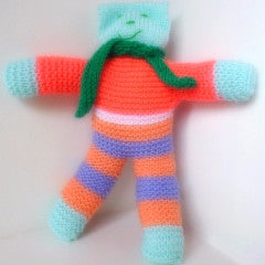 Knitted Cat Doll