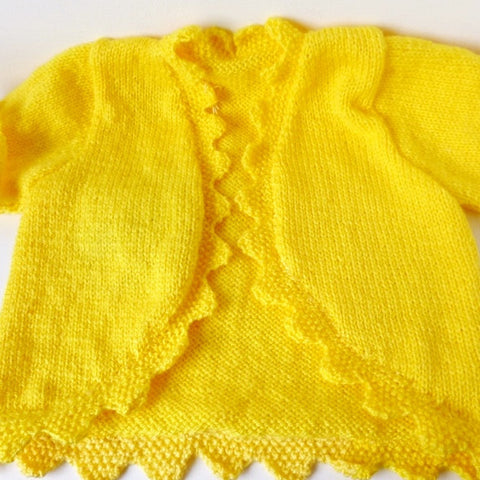 Girls knitted Bolero - Age 4-5 years