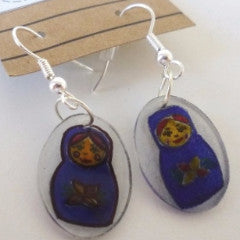 Shrink Art Earrings