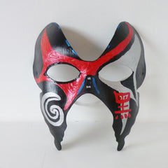 Red and Silver Mask