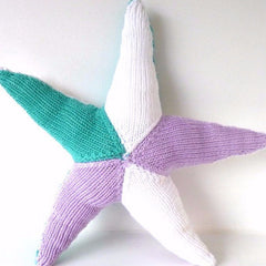 Plaything Fabric Starfish Lilac