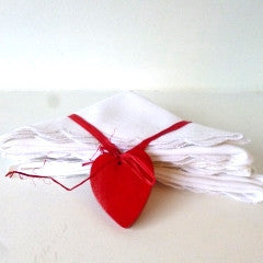 Wooden Heart Napkin Set