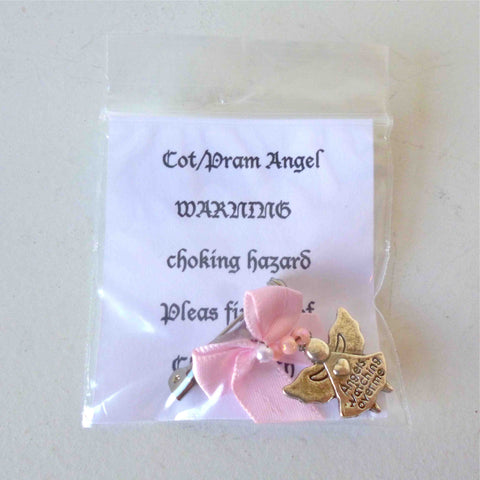 Cot Angels for a Baby Girl