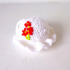 Crocheted Hat Pin Cushion