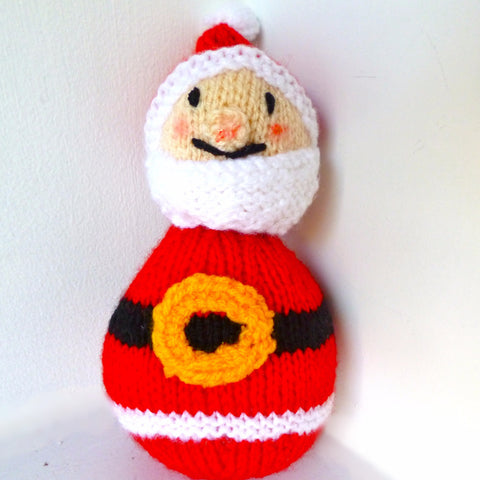 Knitted Father Christmas