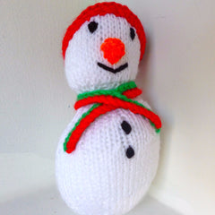 Plaything Fabric Snowman