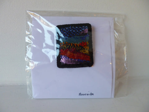 Brooch on a Card