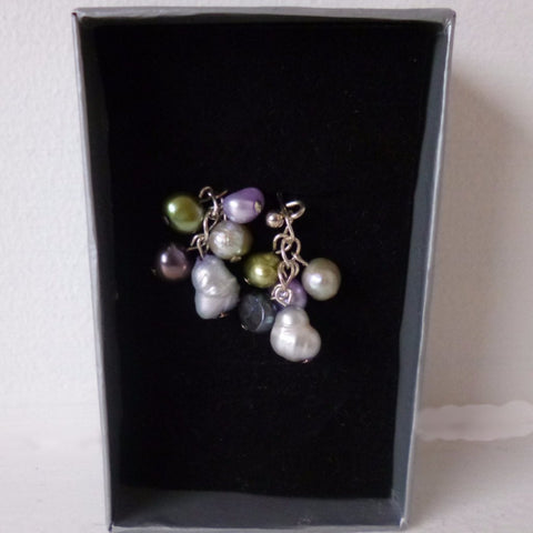 Pastel Freshwater Pearl Earrings