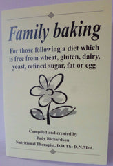 Book Free From Family Baking