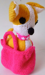 Plaything Fabric Animal Dog