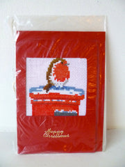 Christmas Cards - Cross Stitch