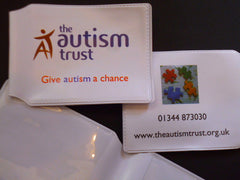 Card Holder / Travel Wallet - Give Autism A Chance