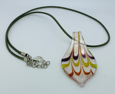 Teardrop Glass Pendant