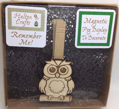 Kit Magnetic Peg Owl
