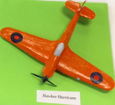 Aeroplane Model Hawker Hurricane