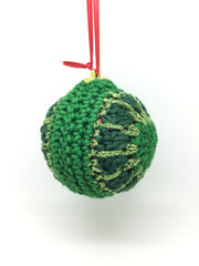 Crocheted Christmas Baubles