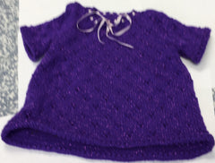 Girl Top Purple 4 to 5 Years 25 1/4 Inch