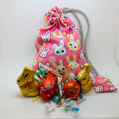 Fabric Easter Bags & Chocolates Gift