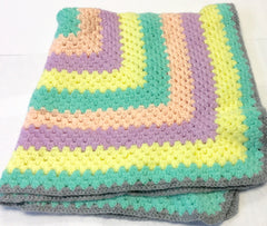 Blanket Pastel Colours